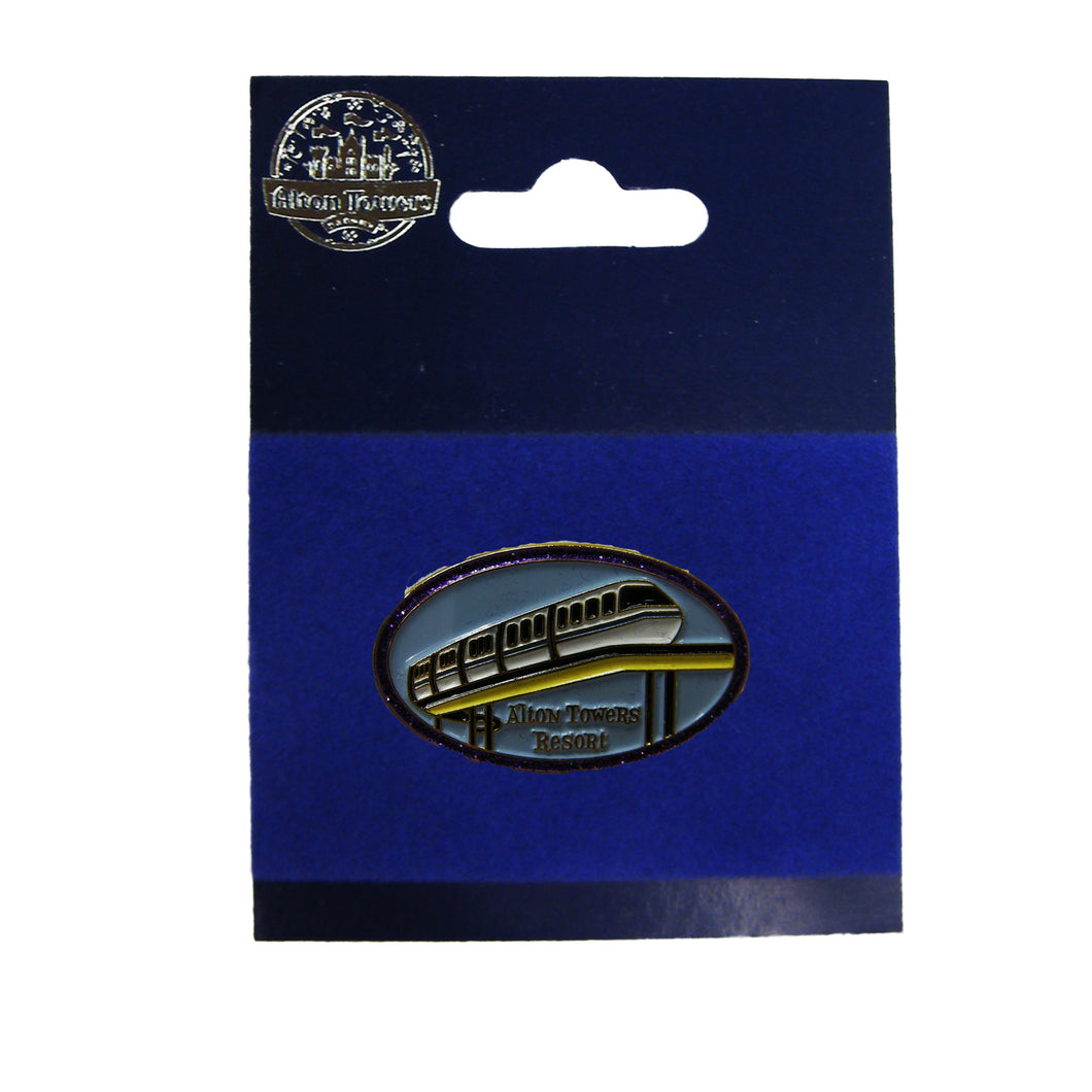 Monorail Pin Badge