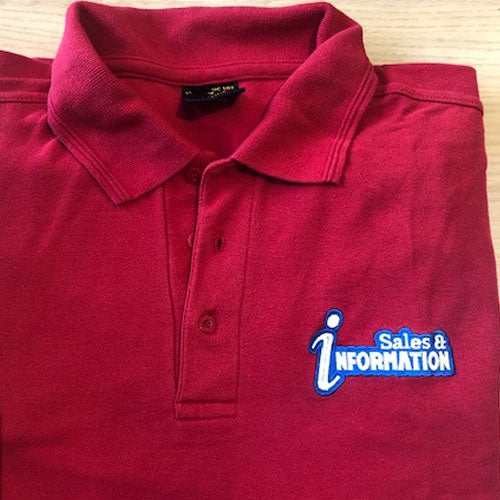 Sales & Information Short Sleeve Polo