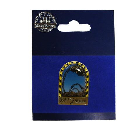 The Smiler Pin Badge