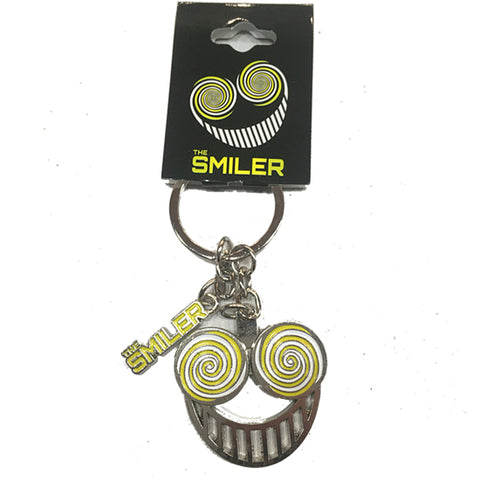 Smiler Spinning Eyes Keyring