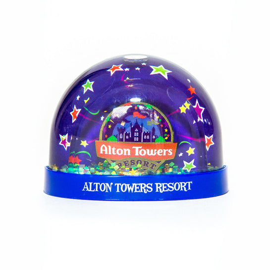 Alton Towers Snowglobe Magnet