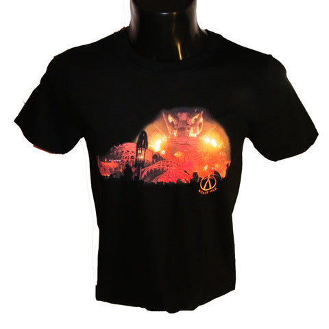 Wicker Man Ride Print Tshirt