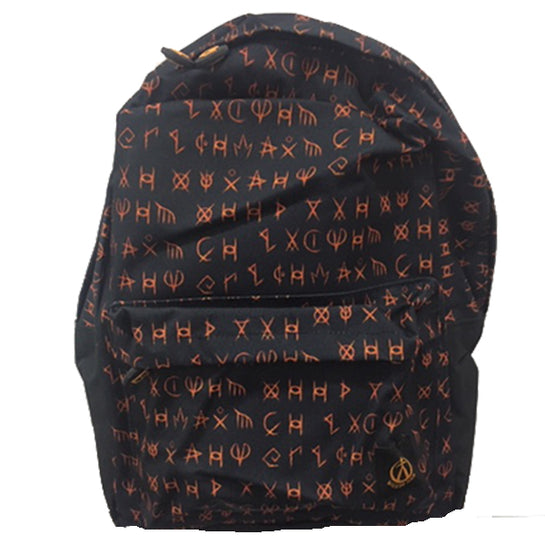 Wicker Man Allover Print Backpack