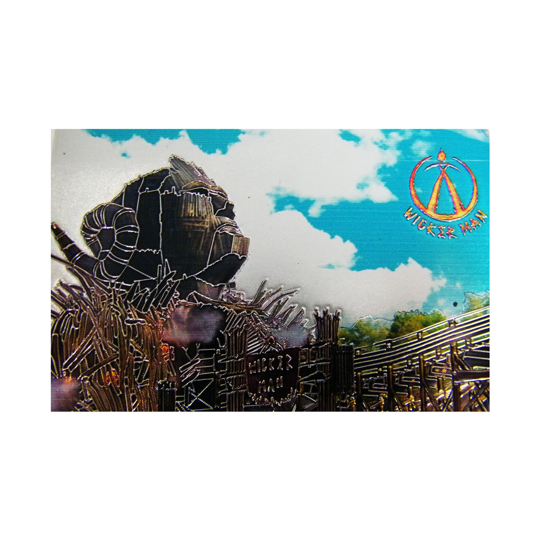 Wicker Man Metallic Magnet
