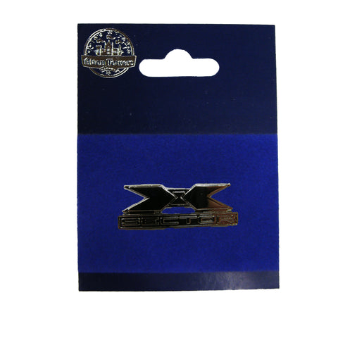 X Sector Pin Badge