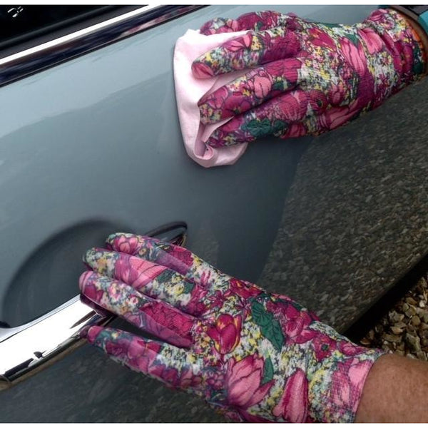 Ladies Gardening Gloves (2 PAIRS) - Perfect for Garden and Household Tasks - On Sale Buy NOW!