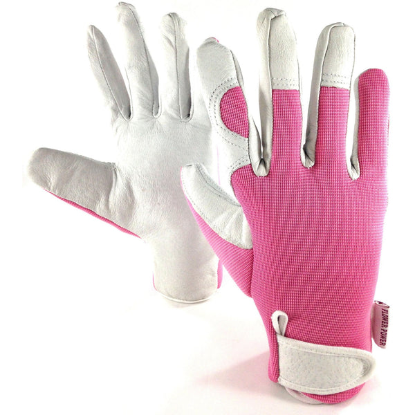 Ladies Leather Garden Glove and Mini Pruner Secateurs Set. Best Gardening Gift for Women. On Sale Buy NOW!