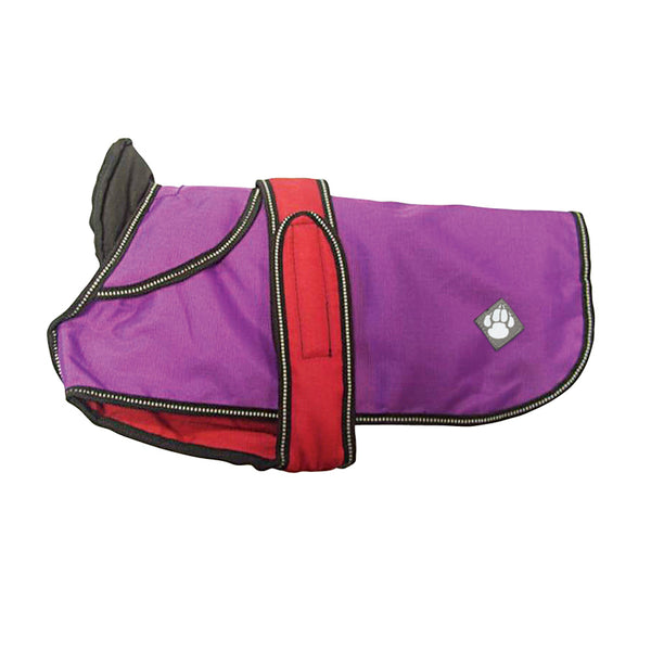 Danish Designs Ultimate 4 Seasons 2 in 1 Dog Waterproof Coat Purple