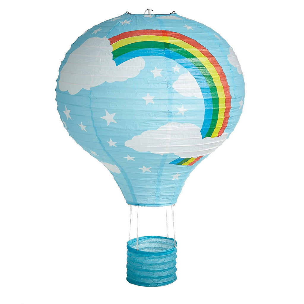 Hot Air Balloon Paper Lantern Light Shade 14""
