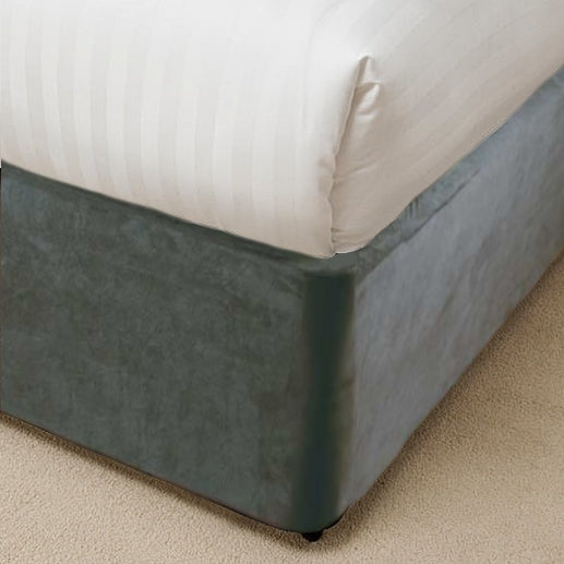 Home & Cosy Belledorm Divan Bed base Wrap (Charcoal)