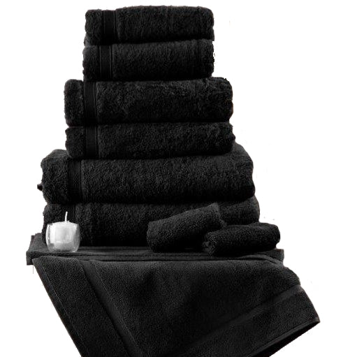 Belledorm Hotel Suite Madison Towel Black
