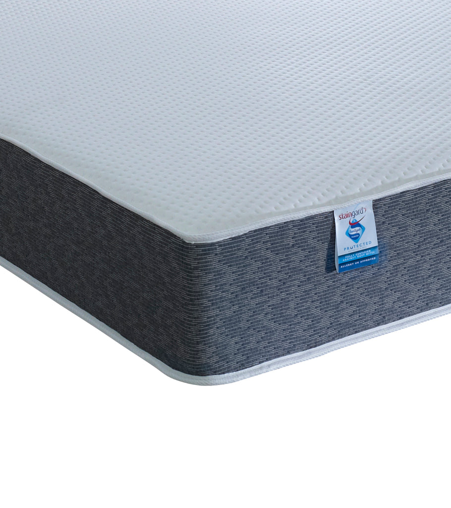 Shakespeare Beds Staingard & Sanitised 1000 Pocket Sprung Laygel Boxed Mattress