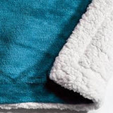 Kilburn & Scott Sherpa Throw Teal