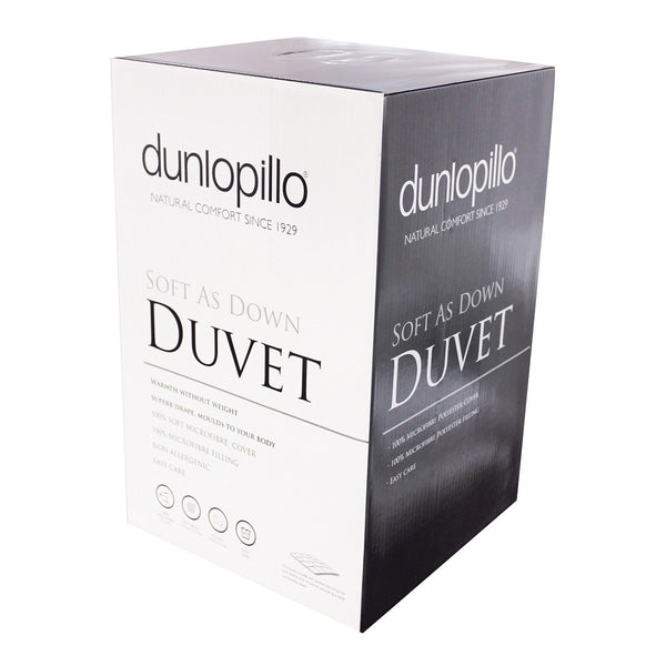 Dunlopillo Soft As Down 10.5 Tog Duvet
