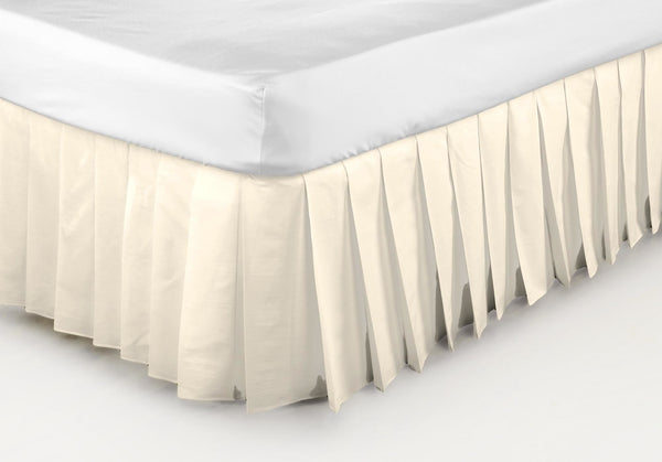 Belledorm Easi Fit Valance Knife White