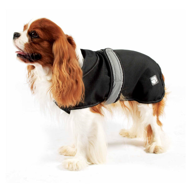 Danish Designs Ultimate 4 Seasons 2 in 1 Dog Waterproof Coat Black