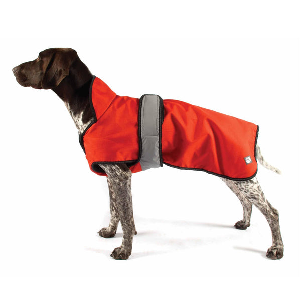 Danish Designs Ultimate 4 Seasons 2 in 1 Dog Waterproof Coat Orange