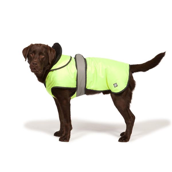 Danish Design Ultimate 4 Seasons 2 in 1 Dog Waterproof Coat Hi-Vis