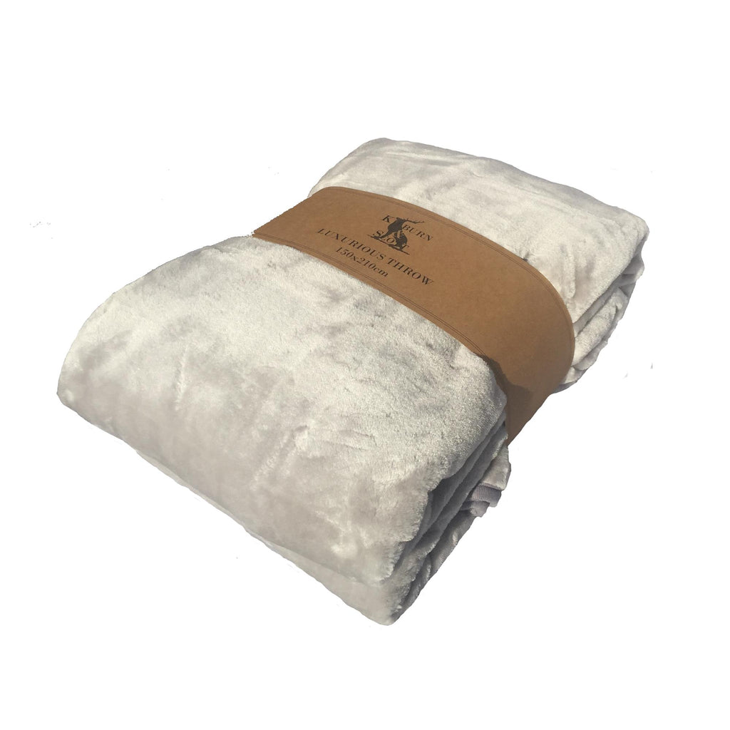 Kilburn & Scott Ultimate Luxurious Fleece Throw