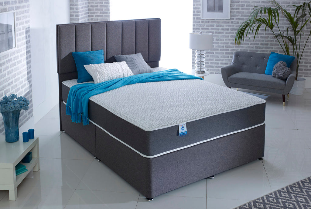 Shakespeare Beds Staingard & Sanitised Memory Foam Boxed Mattress