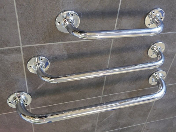 Chrome Plated 25mm Mild Steel Grab Rail