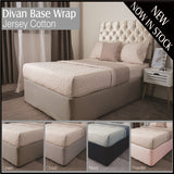 Belledorm Divan Bed Base Wrap Jersey Linen Deep