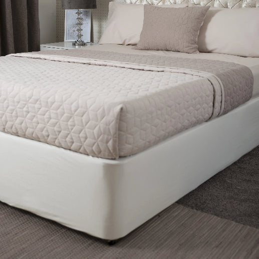 Belledorm Divan Bed Base Wrap Jersey Cloud Deep