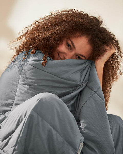 Kally Sleep Weighted Blanket - Grey