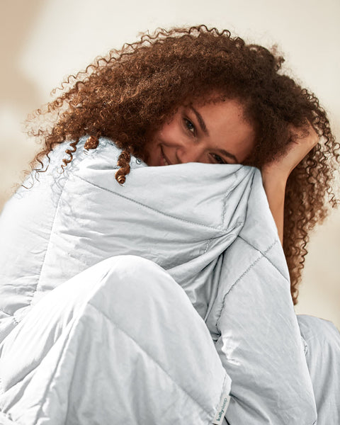 Kally Sleep Weighted Blanket - White