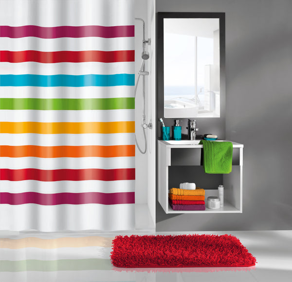 Kleine Wolke Select Shower Curtain Multi Colour