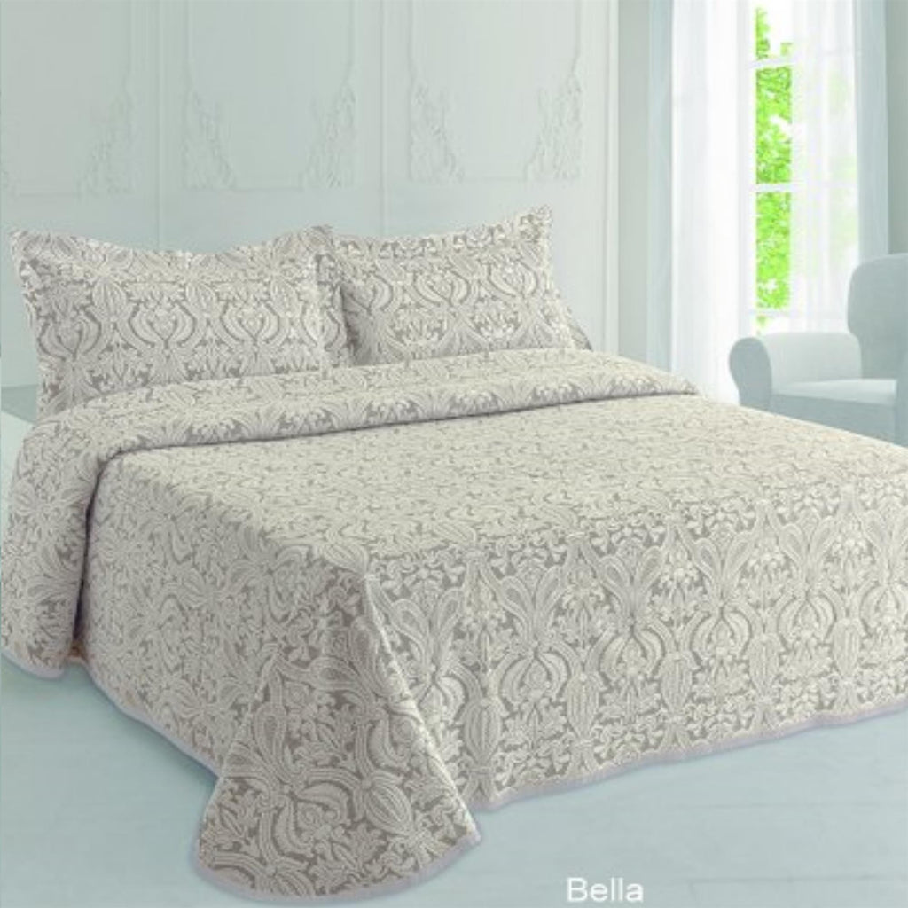 Moda de Casa Bella Soft Touch Bedspread Natural