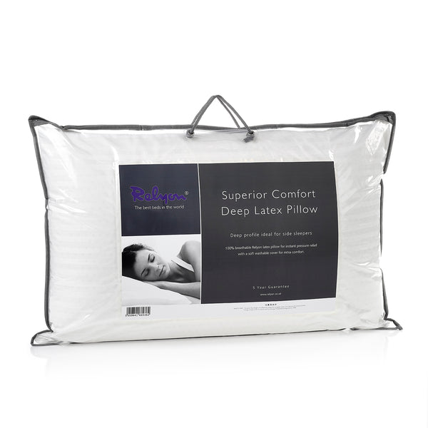 Reylon Superior Comfort Deep Latex Pillows