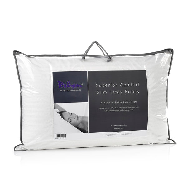 Relyon Superior Comfort Slim Latex Pillows