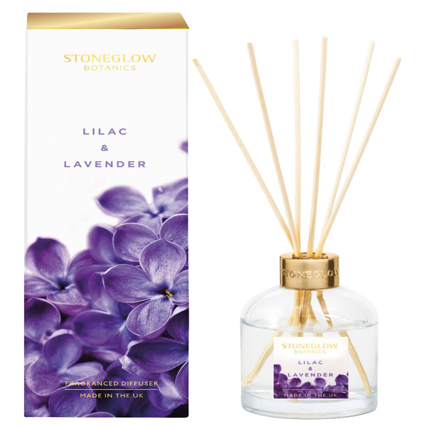 Stoneglow Candles New Botanic - Lilac & Lavender Diffuser 150 ml