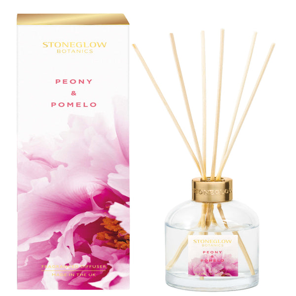 Stoneglow Candles New Botanic - Peony & Pomelo Diffuser 150ml