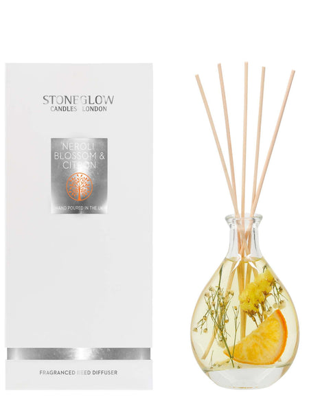 Stoneglow Candles Nature's Gift Reed Diffuser Neroli Blossom & Citron