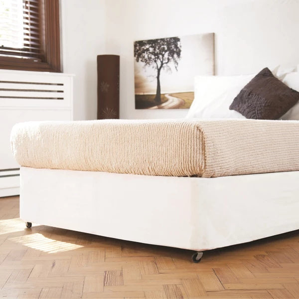 Belledorm Divan Bed Base Wrap White