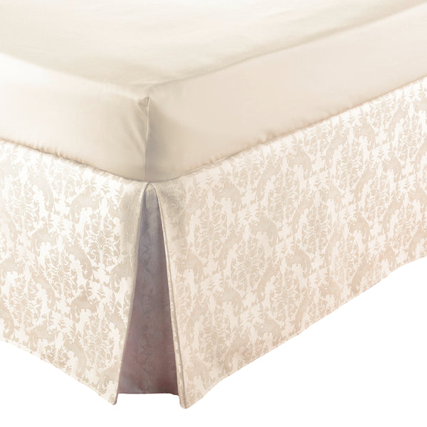 Belledorm Easi Fit Valance Damask Cream