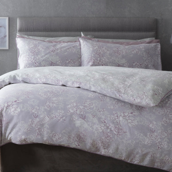 Belledorm Mila Mulberry Duvet Cover Set