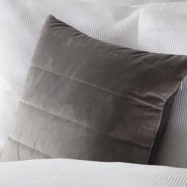 Belledorm Verona Charcoal Cushion Cover