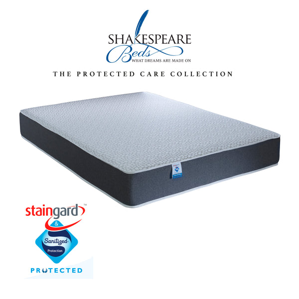 Shakespeare Beds Staingard & Sanitised 1000 Pocket Sprung Memory Foam Boxed Mattress