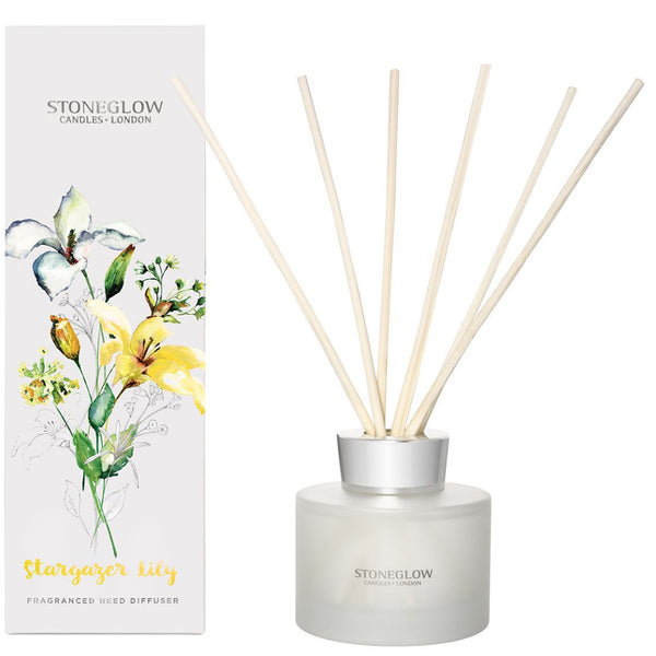 Stoneglow Candles Botanic Stargazer Lily Reed Diffuser