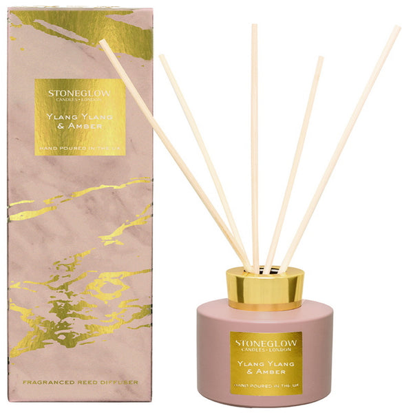 Stoneglow Candles Luna Collection Reed Diffuser Ylang Ylang & Amber