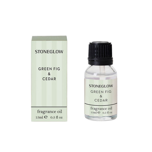 Stoneglow Candles Modern Classics NEW - Green Fig & Cedar 15ml Fragrance Bottle