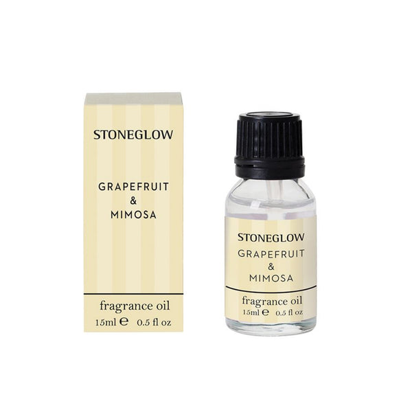 Stoneglow Candles Modern Classics NEW - Grapefruit & Mimosa Pepper 15ml Fragrance Bottle