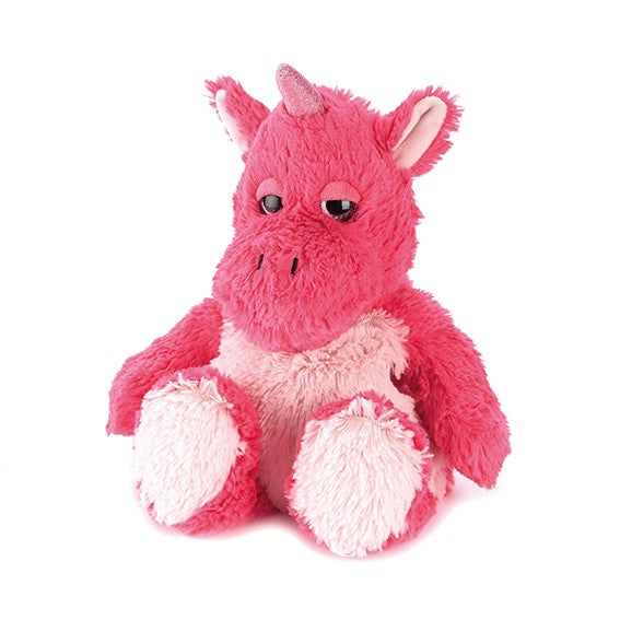 Warmies Unicorn Bright Pink Microwavable Cozy Plush Soft Toy
