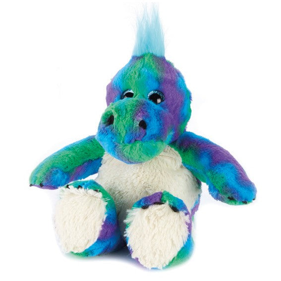 Warmies Dinosaur Rainbow Microwavable Cozy Plush Soft Toy