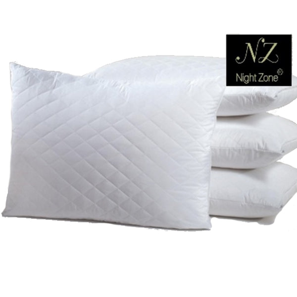 Nightzone Pair Luxury Quilted Pillow Protectors