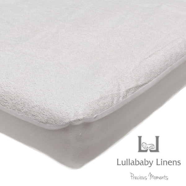 Lullababy Linens Terry Towelling Cotton Waterproof Mattress Protector