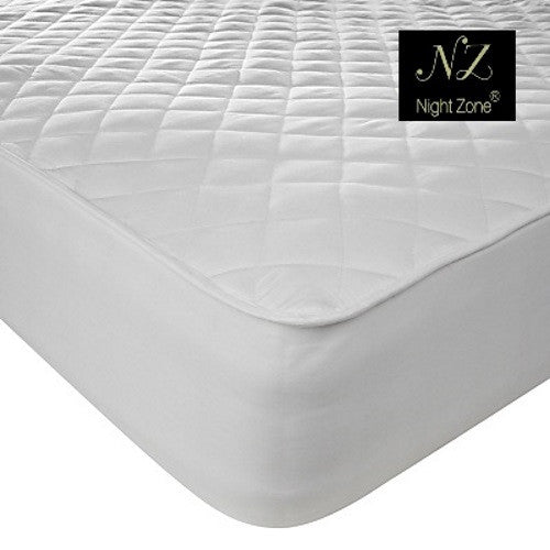 Nightzone Luxury Quilted Non-Allergenic Mattress Protector